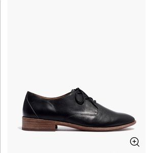 NWT Madewell sz 8 Frances lace-up Oxford flats